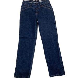 Rockies Vintage High Rise Mom Western Jeans Sz 13
